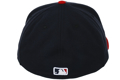 Picture of St. Louis Cardinals New Era Men's Alternate 2 Authentic Collection On-Field 59FIFTY Performance Fitted Hat - Navy