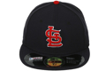 Picture of St. Louis Cardinals New Era Authentic Collection On Field Road 59FIFTY Performance Fitted Hat - Navy