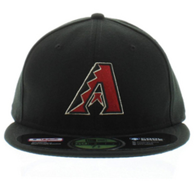 Picture of Arizona Diamondbacks New Era AC On-Field 59FIFTY Alternate Performance Fitted Hat - Black