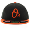 Picture of Baltimore Orioles New Era Alternate Authentic Collection On Field 59FIFTY Performance Fitted Hat - Black/Orange