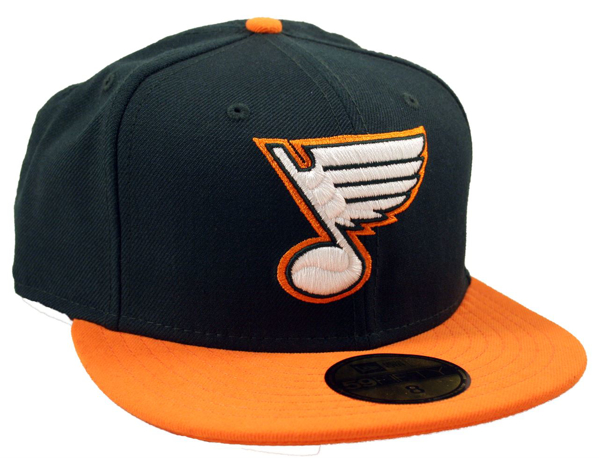 Picture of St. Louis Blues Canes A Coming New Era 5950 Custom Fitted Cap