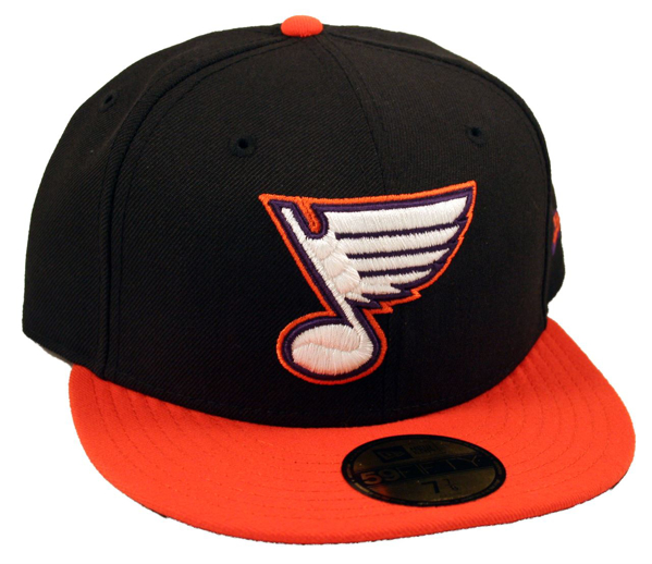 Picture of St. Louis Blues Phoenix Rising Custom New Era 5950 Fitted Cap