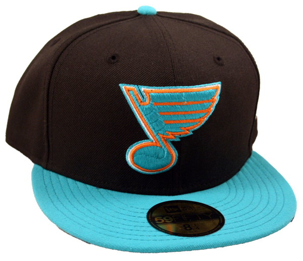 Picture of St. Louis Blues Shark Attack Custom New Era 5950 Fitted Cap