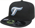 Picture of Toronto Blue Jays Authentic On Field Game 59fifty Alternate Cooperstown Fitted Hat - Black