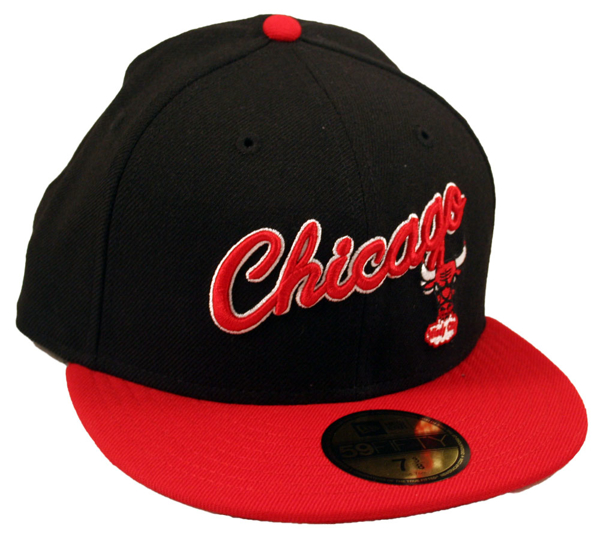 Picture of Chicago Bulls New Era Custom Collection 5950 Fitted
