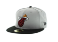 Picture of Miami Heat New Era Classic 5950 Hat