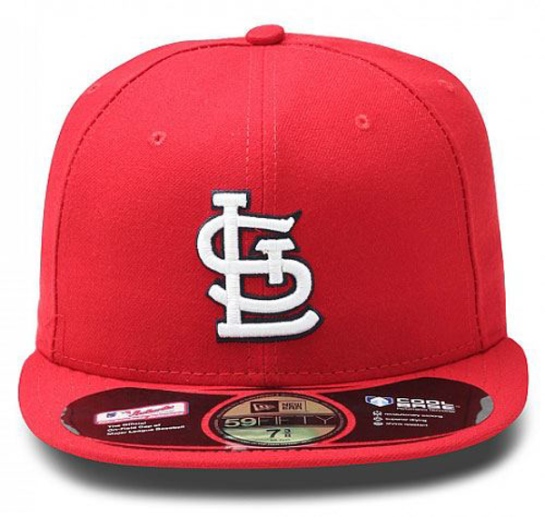 sports shoes 7e5ef 291a8 Picture of New Era St. Louis Cardinals Authentic On-Field Home 59FIFTY  Fitted MLB
