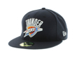 Picture of Oklahoma City Thunder New Era Official Team Color 59FIFTY Fitted Hat - Navy
