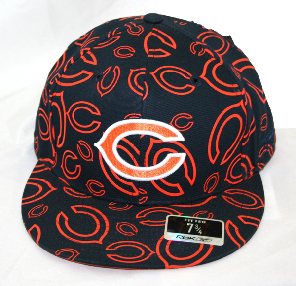 Picture of Chicago Bears New Era 5950 Screenprint Collage