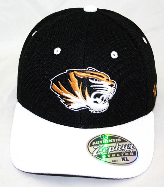 Picture of Missouri Tigers Pursuit 2 Tone Athletic Mesh Hat by Zephyr
