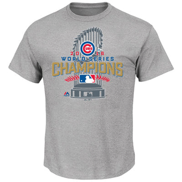 Picture of Chicago Cubs 2016 World Series Locker Room Tees