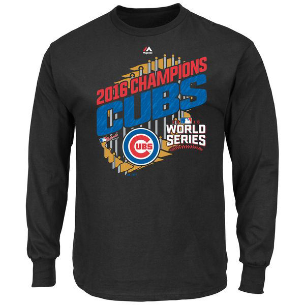 Picture of Chicago Chicago Cubs 2016 World Series Parade Long Sleeve Tee