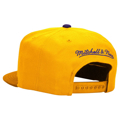 Picture of Los Angeles Kings Mitchell & Ness City Color Switch Snap-Back Hat - Gold