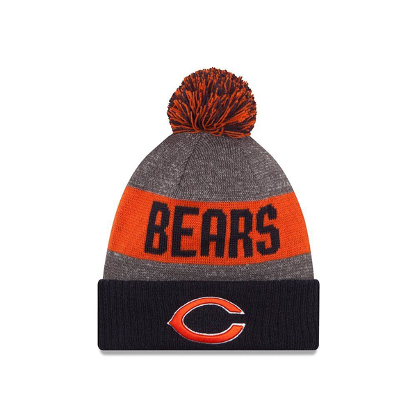 Picture of Chicago Bears New Era NFL Official Sideline Sport Knit Hat