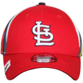Picture of Men's St. Louis Cardinals New Era Red Logo Wrapped 39THIRTY Flex Hat