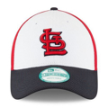 Picture of St. Louis Cardinals New Era Perforated Block Adjustable Hat