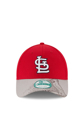 Picture of New Era St Louis Cardinals Mens Red Team Slide 9FORTY Adjustable Hat