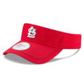 Picture of Men's St. Louis Cardinals New Era Red Clubhouse Visor