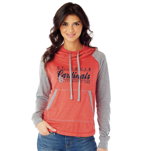 Picture of St. Louis Cardinals Ladies Pullover Hoodie Established 1892