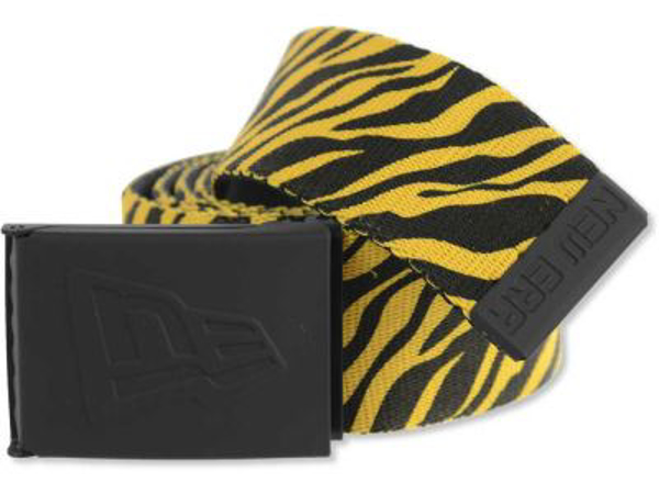 Picture of New Era Tiger Print Canvas Belt