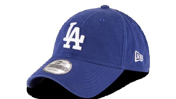 Picture of Men's LA Dodgers New Era Stone Core Classic 9TWENTY Adjustable Hat