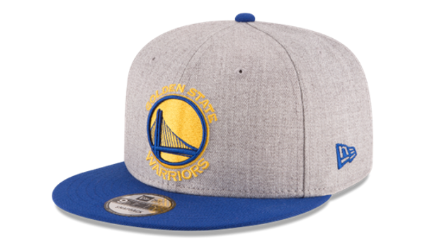 Picture of New Era Golden State Warriors Heather/Royal 2-Tone 9FIFTY Adjustable Snapback Hat