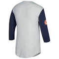 Picture of St. Louis Cardinals Mitchell & Ness Gray/Navy Scoring Position 3/4-Sleeve T-Shirt