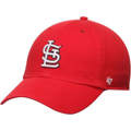 Picture of Men's St. Louis Cardinals '47 Brand Red Basic Logo Clean Up Game Adjustable Hat