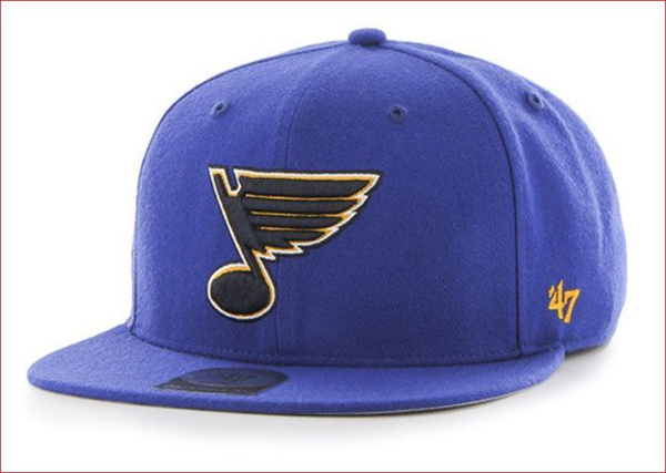 Picture of 47' Brand St. Louis Blues Sure Shot Snapback