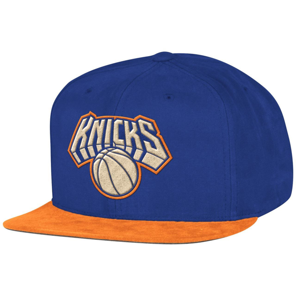 Picture of New York Knicks Mitchell & Ness Sandy Off White Snapback