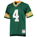 Picture of Brett Favre Green Bay Packers Mitchell & Ness 1996 Replica Retired Player Jersey - Green