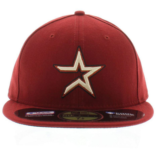7a2309e7 Houston Astros New Era Alternate Authentic Collection On Field 59FIFTY  Performance Fitted Hat - Maroon