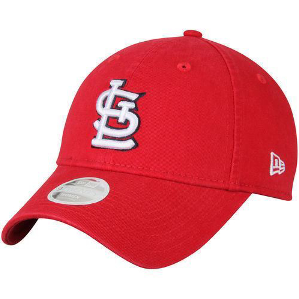 Picture of New Era St. Louis Cardinals Women's Red Preferred Pick 9TWENTY Adjustable Hat