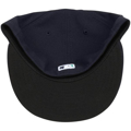 Picture of Seattle Mariners New Era Authentic Collection On Field 59FIFTY Fitted Hat - Navy