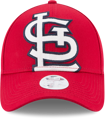 Picture of Women's St. Louis Cardinals New Era Red Glitter Glam 3 9FORTY Adjustable Hat