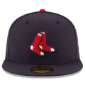 Picture of Boston Red Sox New Era Alternate Authentic Collection On-Field 59FIFTY Fitted Hat - Navy