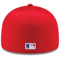 Picture of Texas Rangers New Era Alternate Authentic Collection On-Field 59FIFTY Fitted Hat - Red