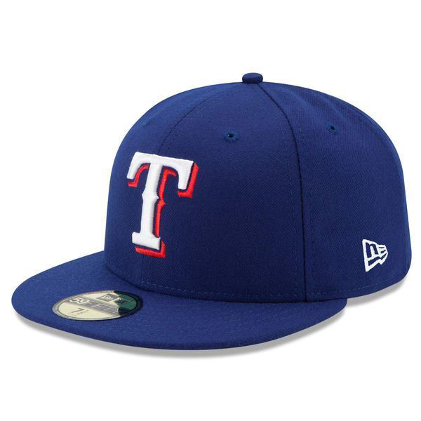 Picture of Texas Rangers New Era Game Authentic Collection On-Field 59FIFTY Fitted Hat - Royal