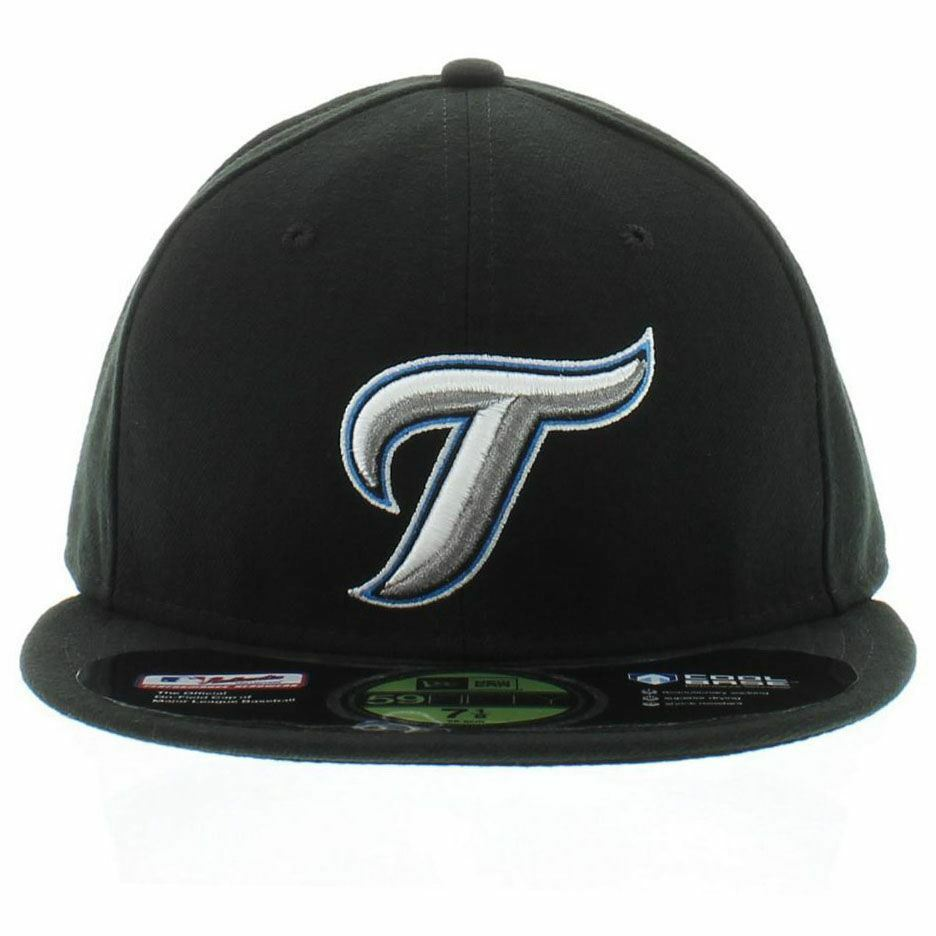 c6e0cbf2663ff Picture of Toronto Blue Jays Authentic On Field Game 59fifty Alternate  Cooperstown Fitted Hat - Black