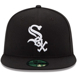 Picture of Chicago White Sox New Era Game Authentic Collection On-Field 59FIFTY Fitted Hat - Black