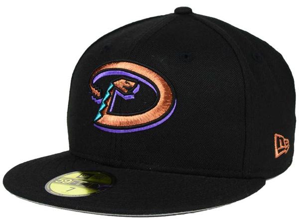 Picture of Arizona Diamondbacks Rattler New Era MLB Cooperstown 59FIFTY Cap