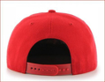 Picture of St Louis Cardinals '47 Brand No Shot Captain Wool Snapback Adjustable Red Hat