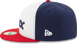 Picture of Men's Chicago White Sox New Era White/Red Alternate Authentic Collection On-Field  59FIFTY Fitted Hat