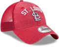 Picture of Men's St. Louis Cardinals New Era Red Rugged Team 9TWENTY Snapback Adjustable Hat