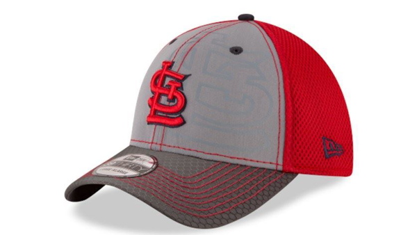 Picture of St Louis Cardinals MLB New Era 39THIRTY Flashed Front Neo Flex Fit Cap Hat