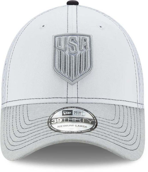 Picture of New Era U.S. Soccer 39THIRTY Shadow Burst Cap - White