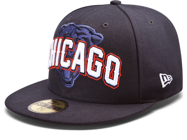 Picture of New Era Chicago Bears 5950 Draft Day 5950 Fitted Hat