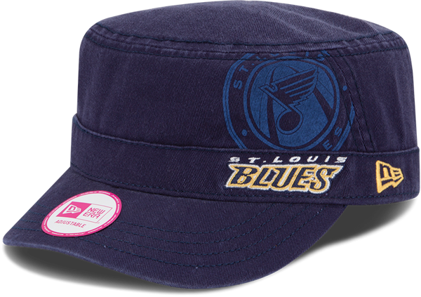 Picture of New Era St. Louis Blues Ladies Goal-To-Go Military Adjustable Hat