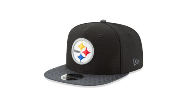 finest selection 57d8e 9e4fa Picture of New Era Men s Pittsburgh Steelers Sideline 2017 On-Field 9Fifty  Snapback Adjustable Hat