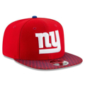 Picture of New York Giants New Era Red 2017 Sideline Official 9FIFTY Snapback Hat